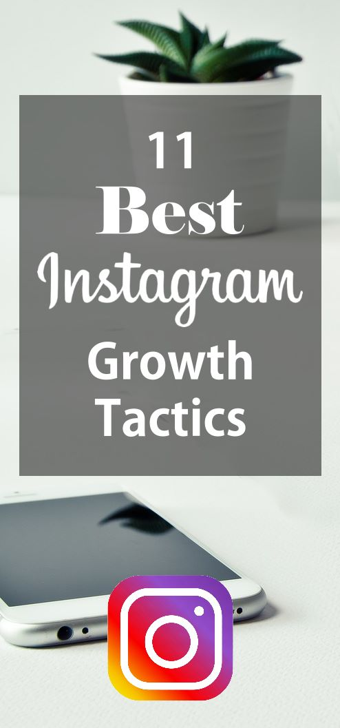 11 Best Instagram Growth Tactics. Learn how to grow your Instagram following like a boss with these 11 growth hacks.